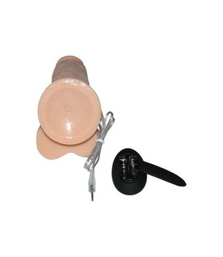 RealRock Realistische vibrator huidskleur met zuignap