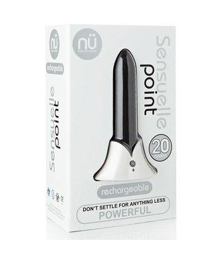 Nu Sensuelle Nü Sensuelle Point Bullet Vibrator - Zwart