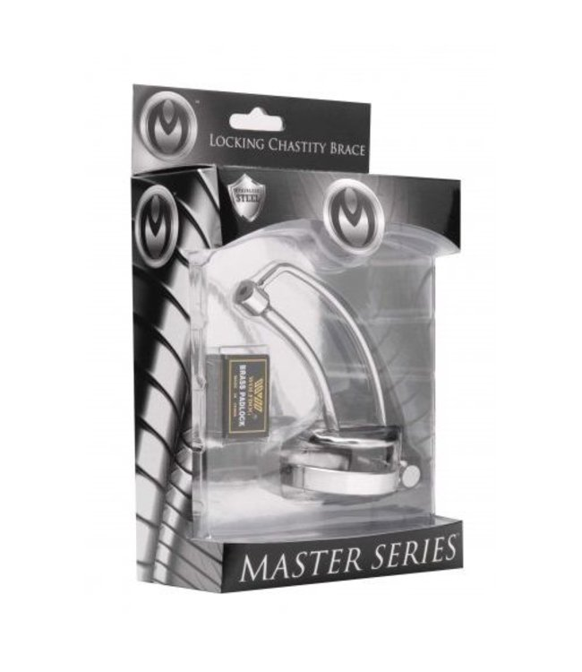 Master Series Asylum Locking Chastity Brace