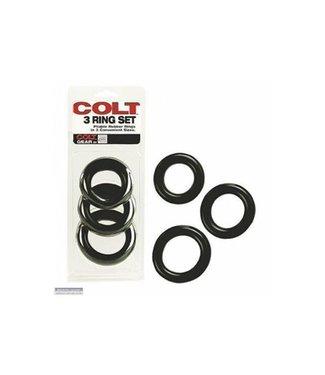 Colt Set van 3 penisringen