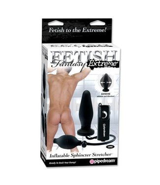 Fetish Fantasy Extreme Sphincter Stretcher Opblaasbare Buttplug