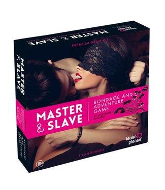 Tease & Please Master & Slave Bondagespel - Roze