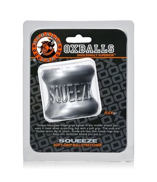 Oxballs Squeeze Ballstretcher - Zilvergrijs