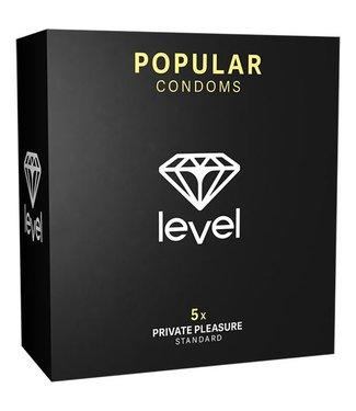 Level Popular Condooms - 5 Stuks
