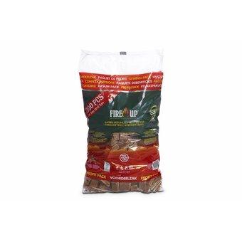 FireUp Aanmaak blokjes bruin Circa 300 stuks