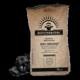 Bestcharcoal Berkenhout en Eiken Houtskool mix 10kg