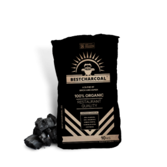Bestcharcoal Berken en Aspen Houtskool mix 10kg