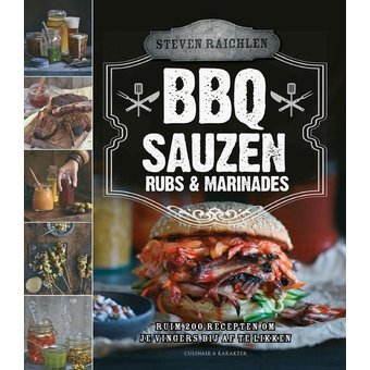 Steven Raichlen BBQ sauzen en rubs & marinades