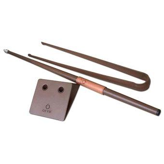 Ofyr Buffadoo set (blaaspijp en houttang/pook)