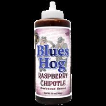 Blues Hog Raspberry Chipotle sauce squeeze bottle