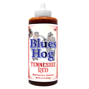 Blues Hog Tennessee Red sauce squeeze bottle