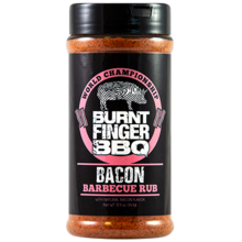Burnt Finger Bacon Rub