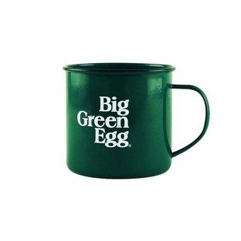Big Green Egg Enamel Mug (vintage geëmailleerde mok)