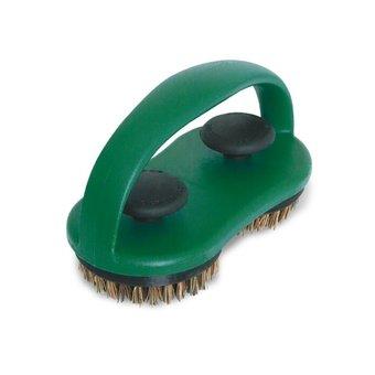 Big Green Egg Dual Brush Grid Scrubber / schoonmaakborstel