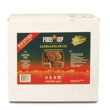 FireUp Aanmaak blokjes bruin circa 616 stuks
