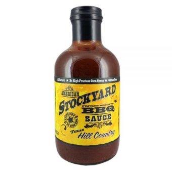 American Stockyard Texas Hill Counrty BBQ sauce