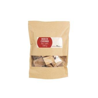 GrillTeam Beech chunks 1 kg