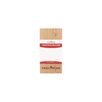 GrillTeam Cedar wood bbq plank (2st)