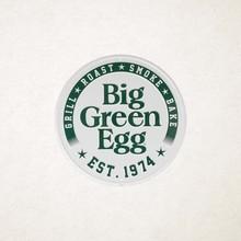 Big Green Egg Orginal est 1974 bord