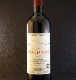 Domaine Mondivin  6 flessen Quintessence 2007 Cabernet Franc
