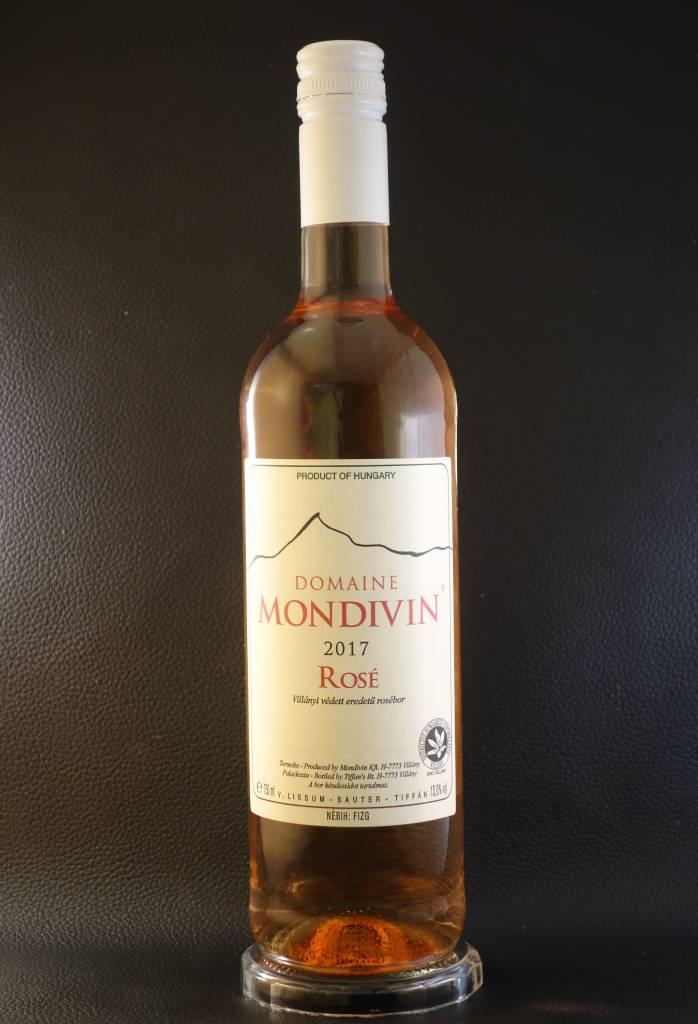 Domaine Mondivin  6 flessen Rosé 2017 Cabernet Sauvignon Classicus Villany DHC