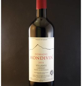 Domaine Mondivin  6 flessen Classicus  2014  Cabernet Franc & Sauvignon