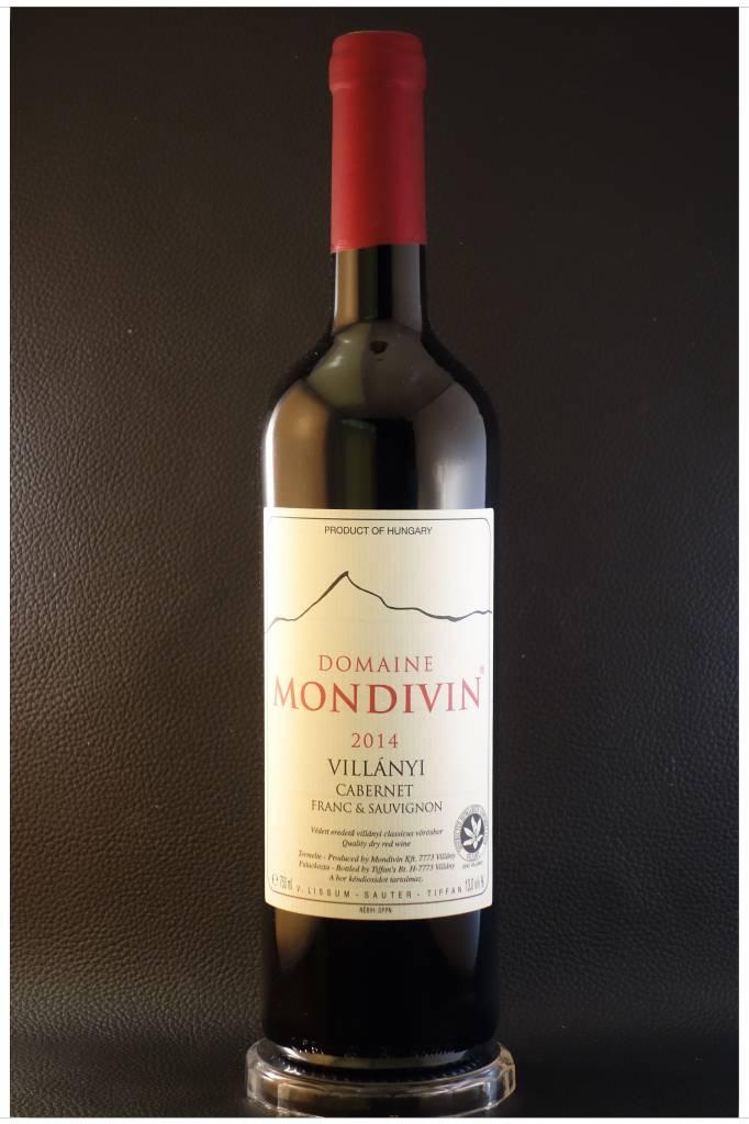 Domaine Mondivin  6 flessen Classicus  2014 Cabernet-Franc & Sauvignon Domaine Mondivin Villany DHC