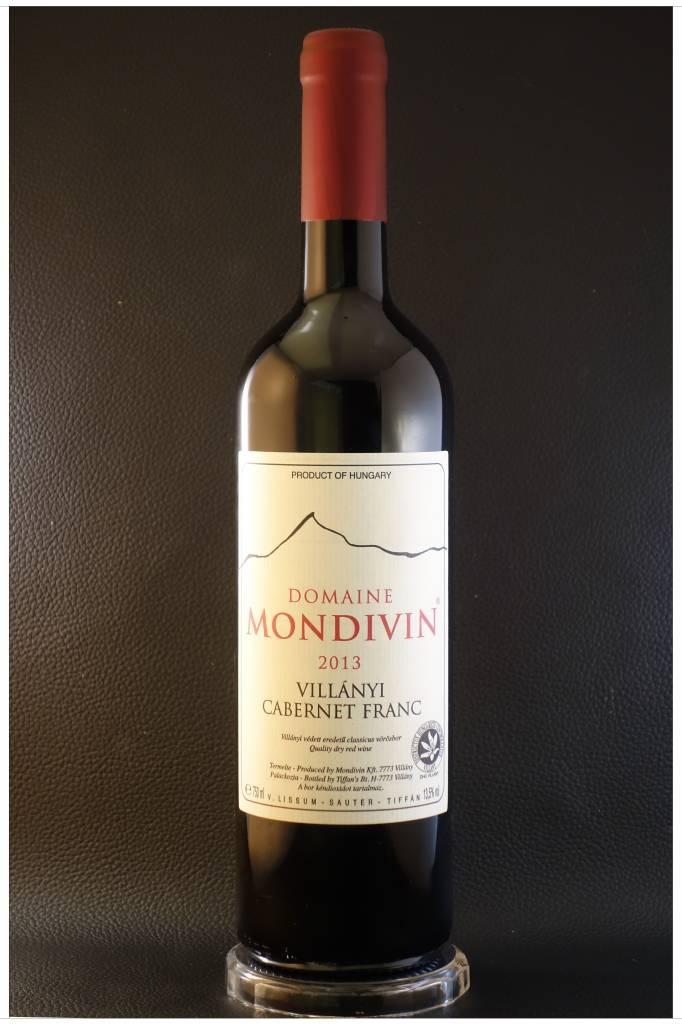 Domaine Mondivin  6 flessen Classicus  2013 Cabernet-Franc Villany DHC