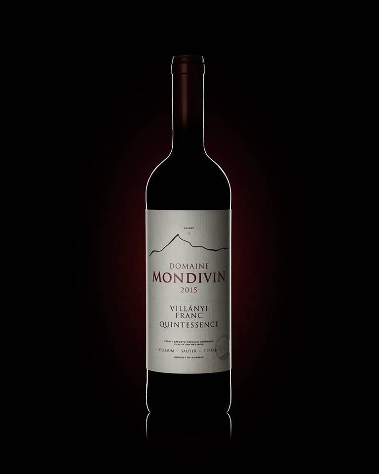 Domaine Mondivin  6 flessen 2015 Quintessence Villány Franc