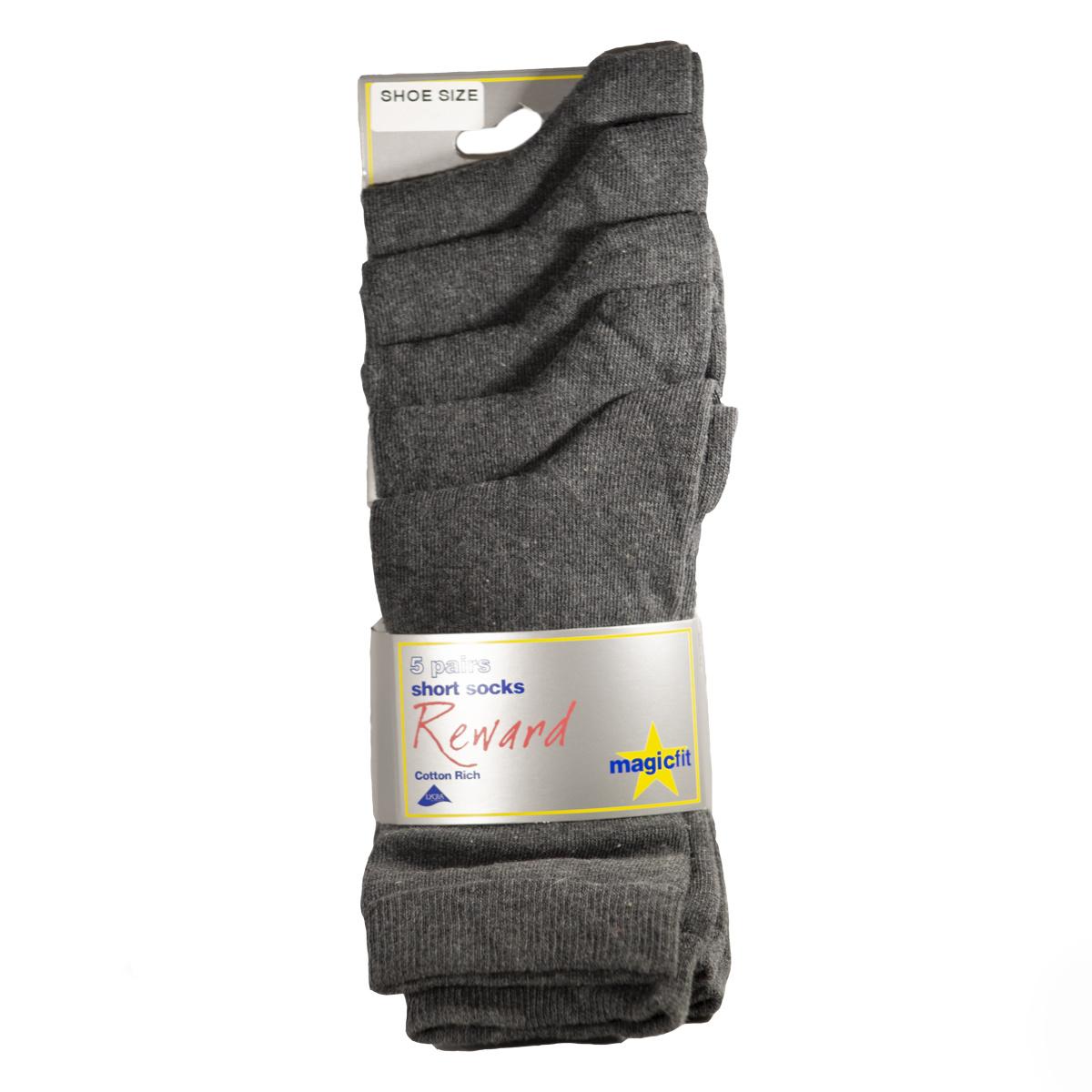 Reward Adult Short Socks Size 7-11