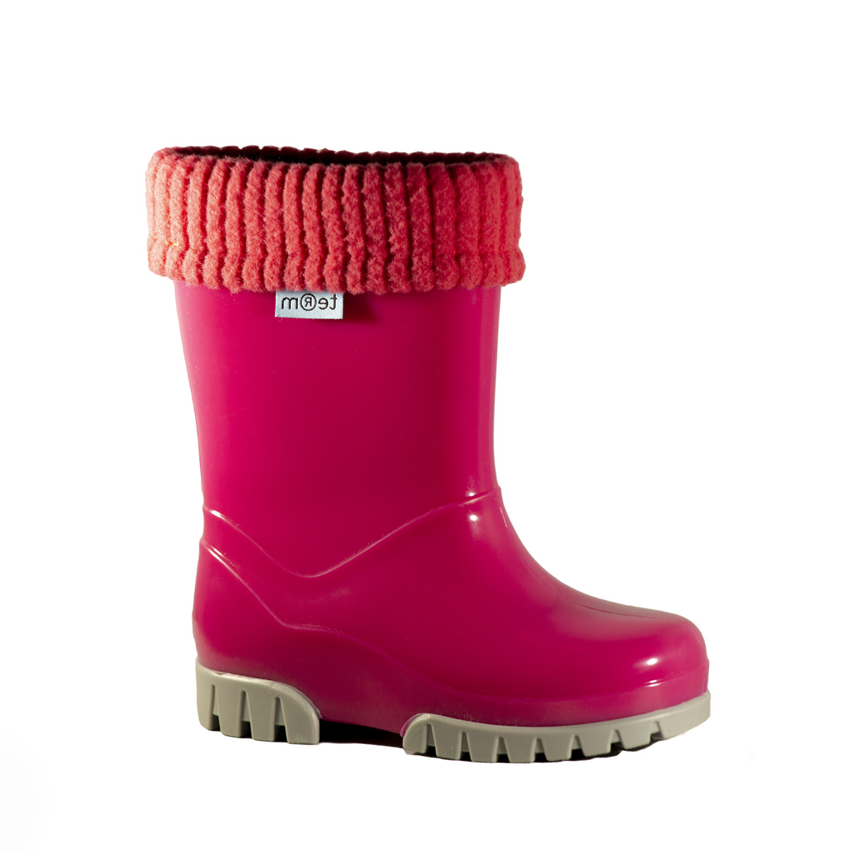 Term Toughies Girls Wellies Pink