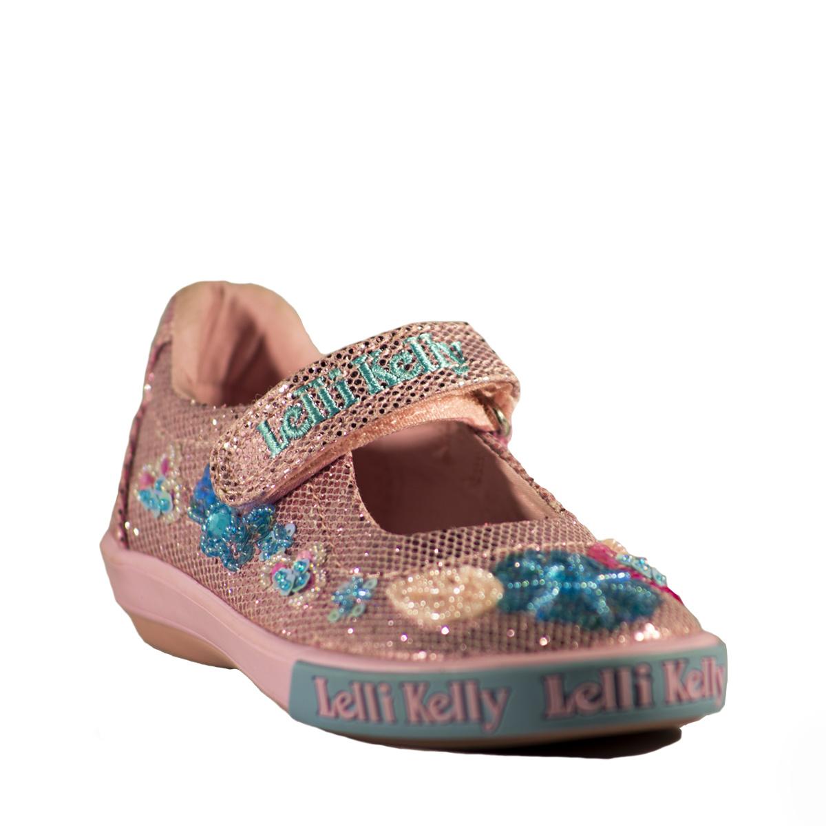 Lelli Kelly Glitter Daisy Pink