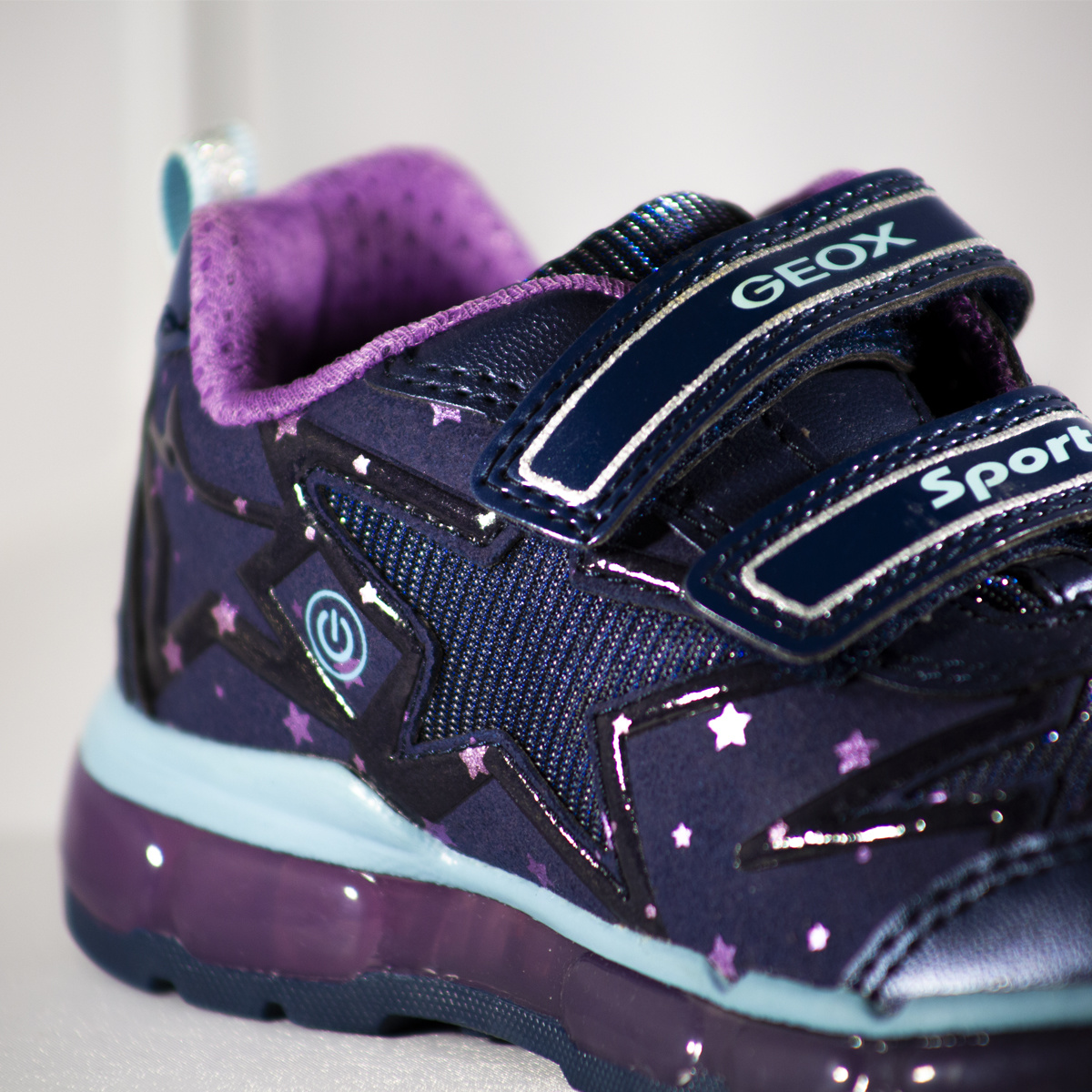Geox Andriod Navy Purple
