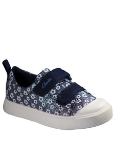 City Bright Navy Floral Junior