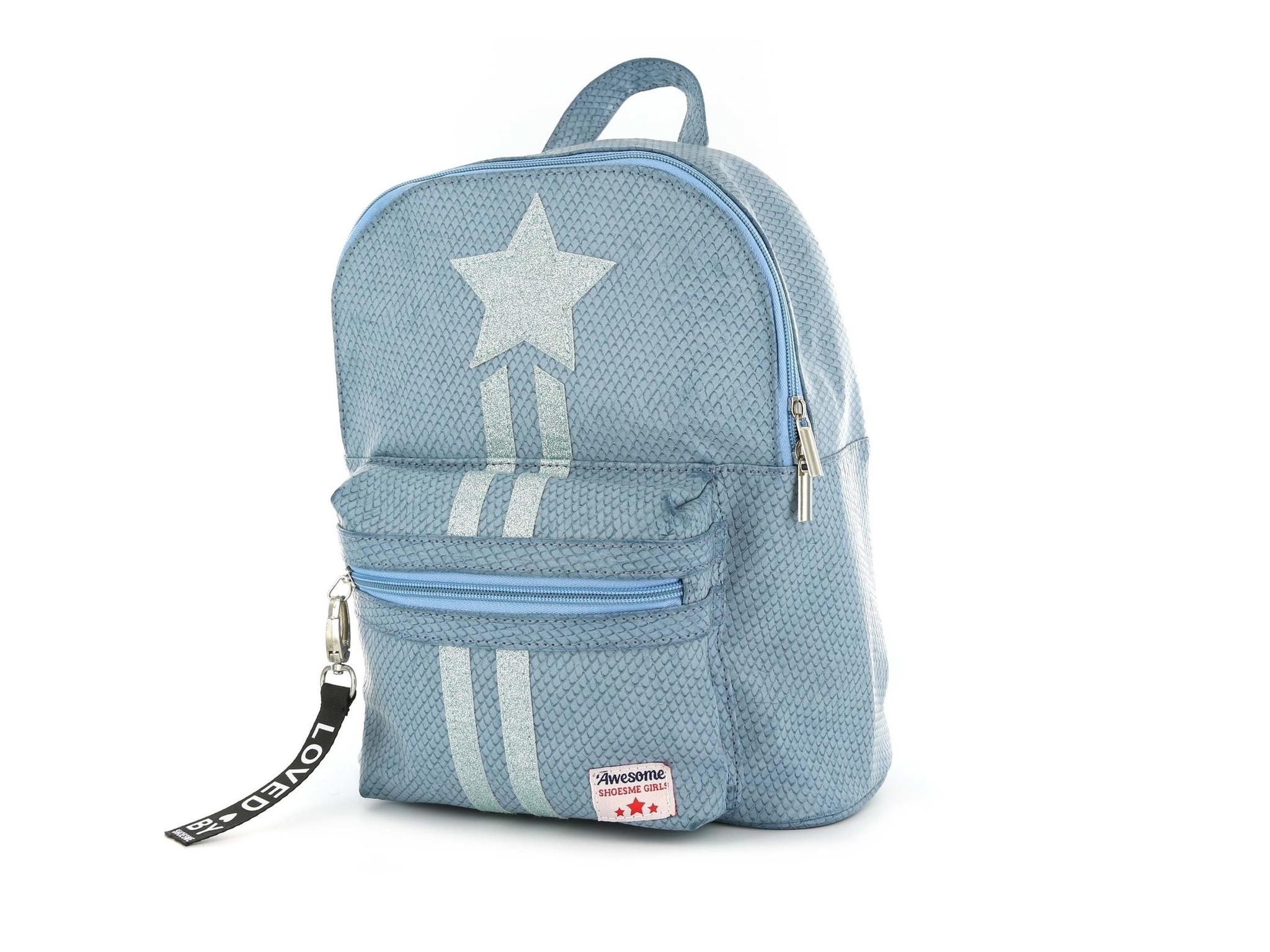 Shoesme Blue Silver Star