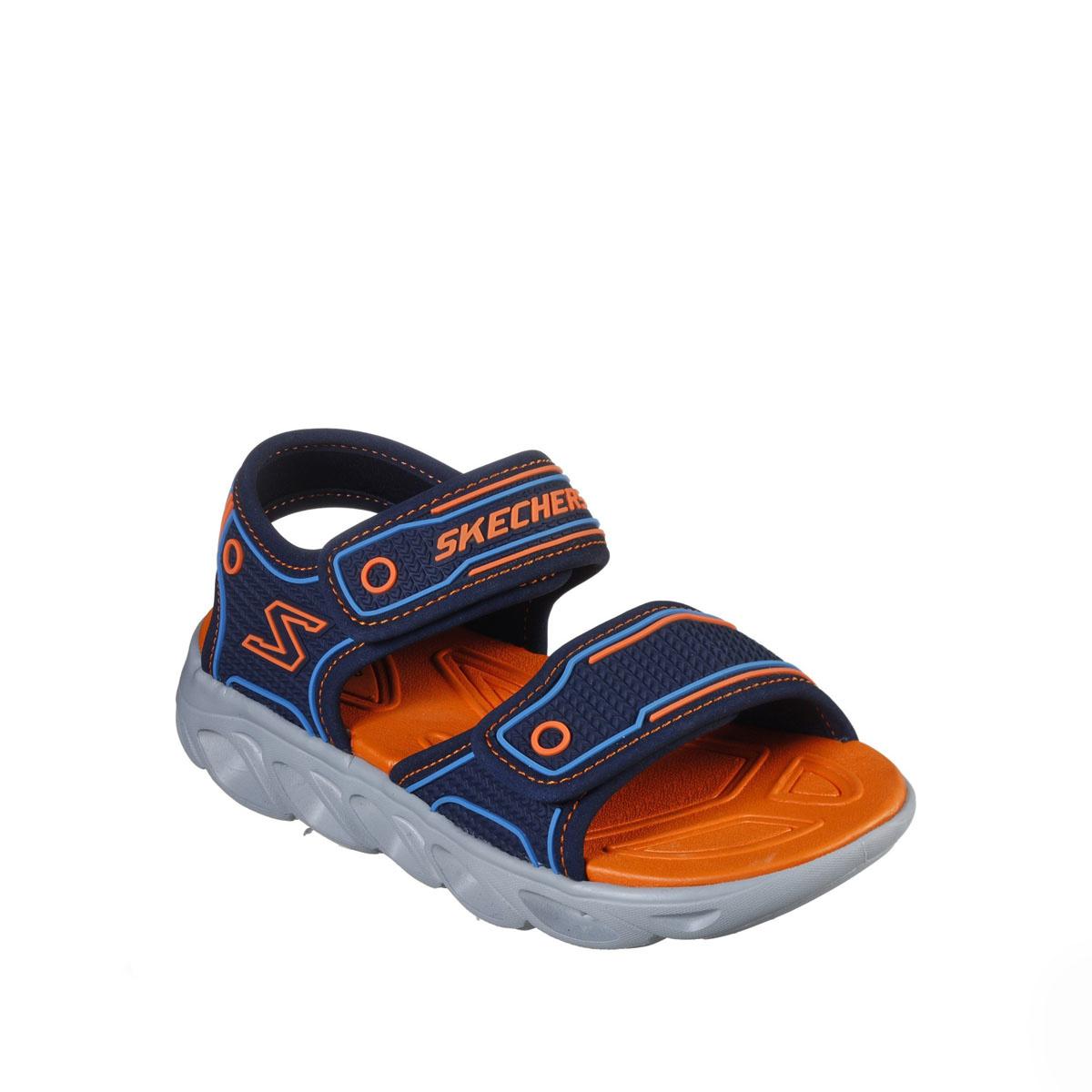 Skechers Hypno Flash Navy Orange