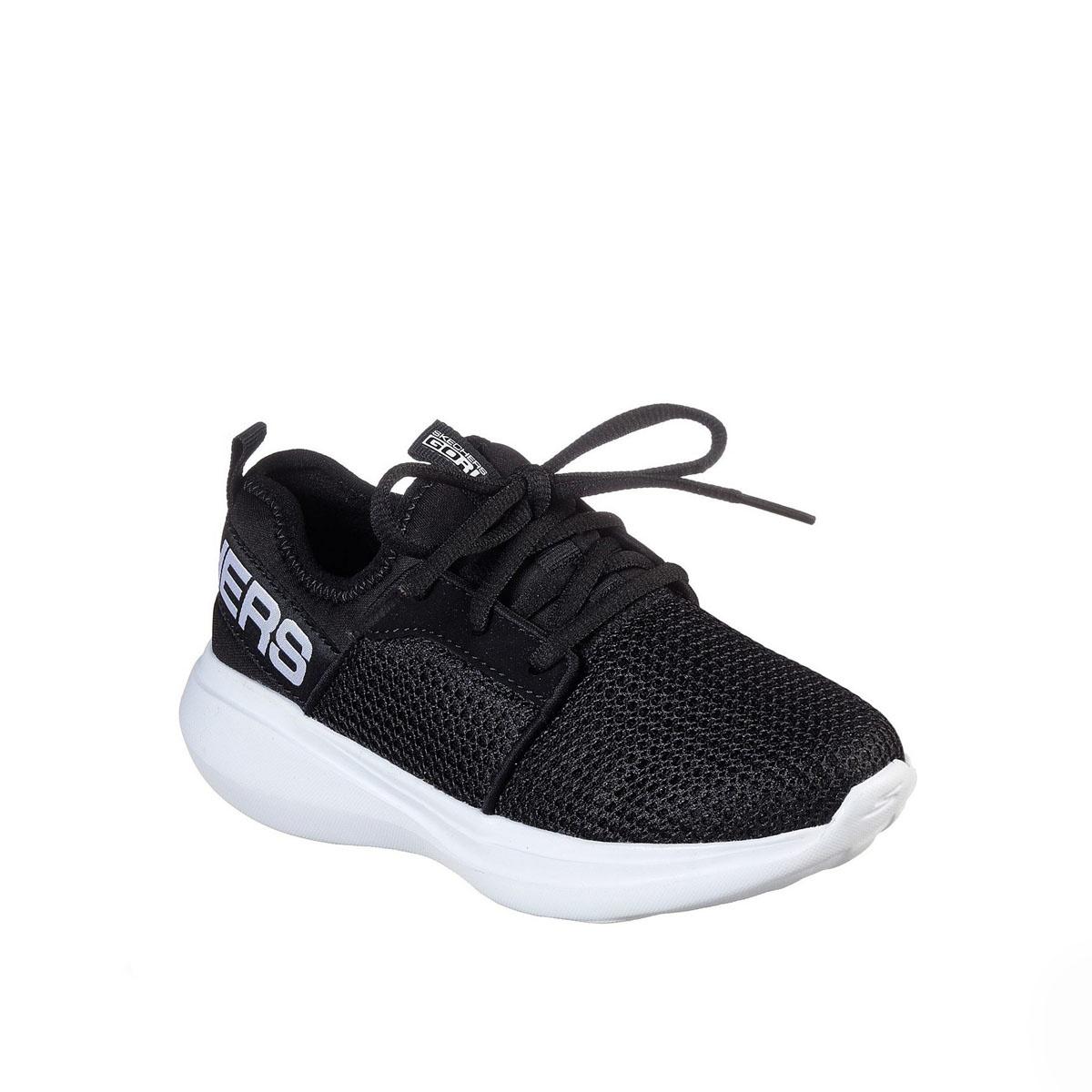 Skechers Valor Black White