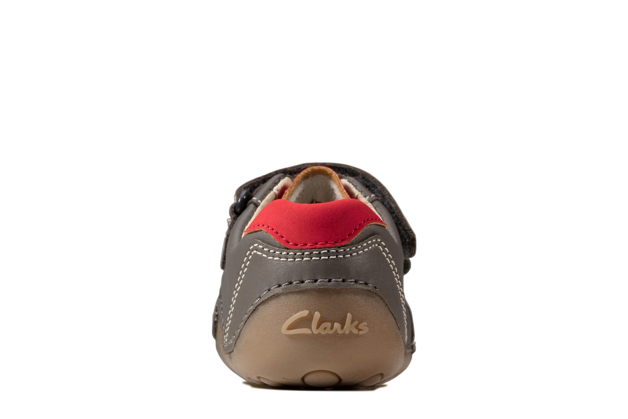 Clarks Tiny Dusk Grey