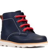 Clarks Crown Hike Navy Infant