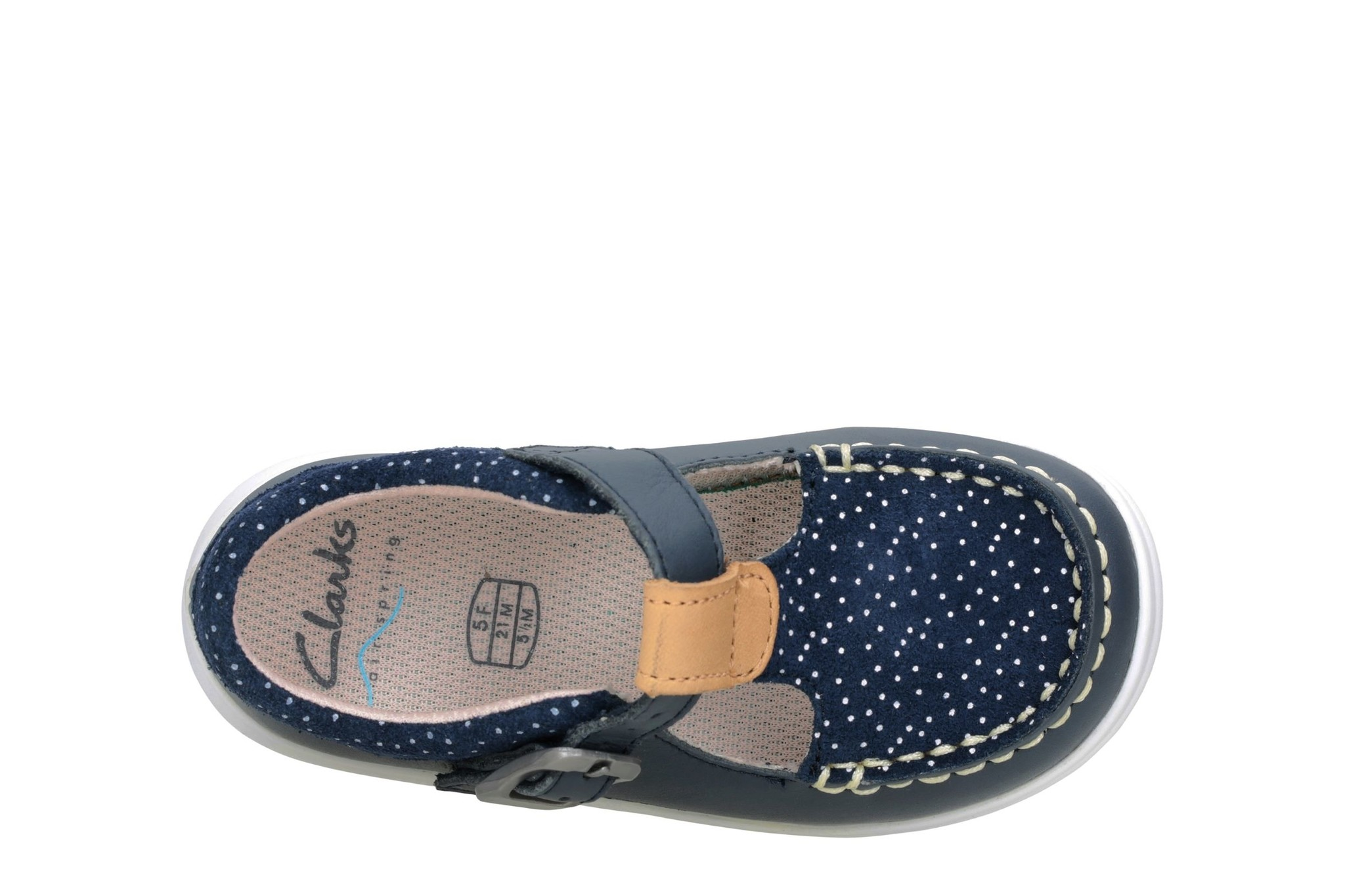 Clarks Cloud Rosa Navy