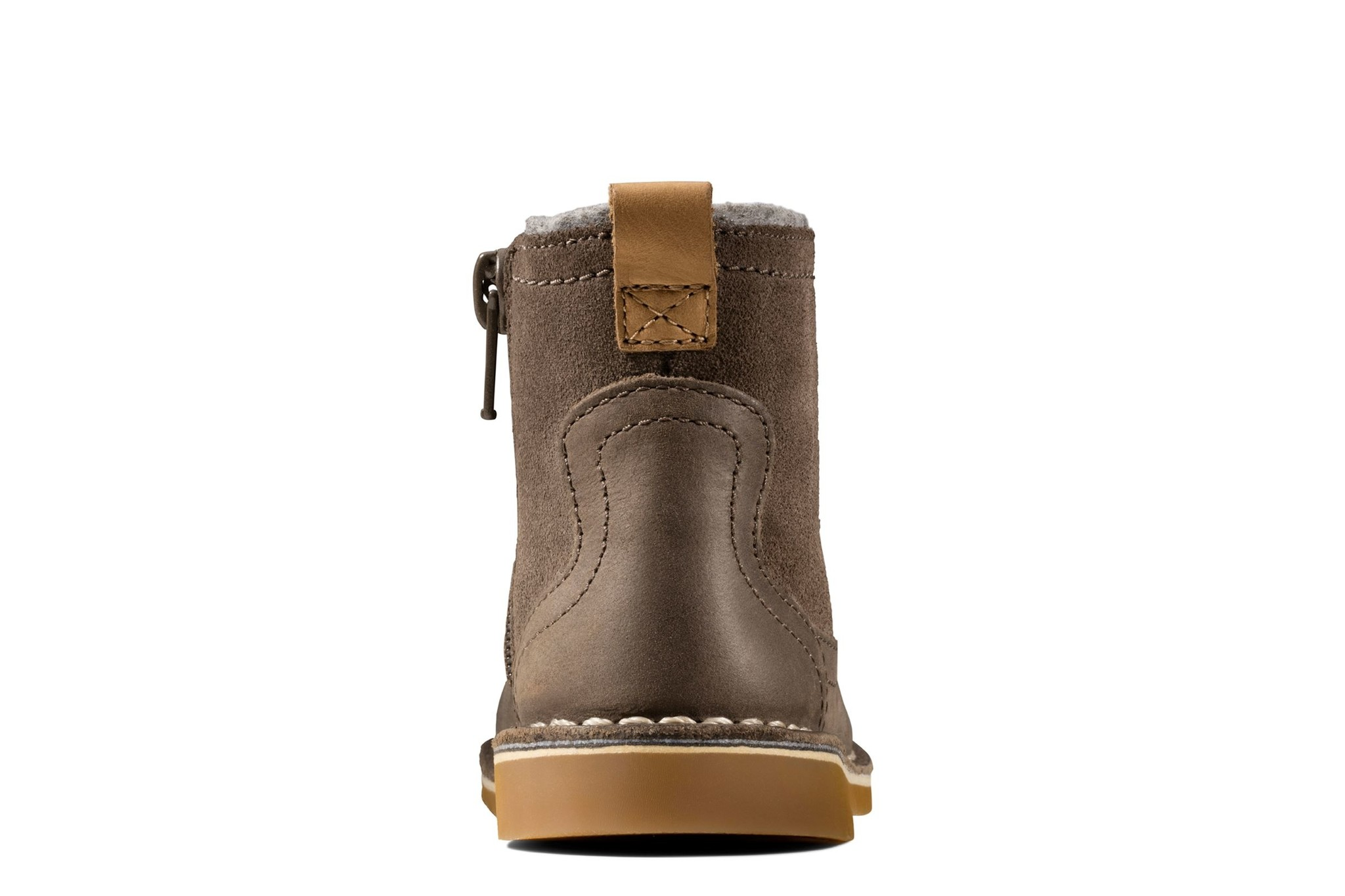 Clarks Comet Frost Brown Leather