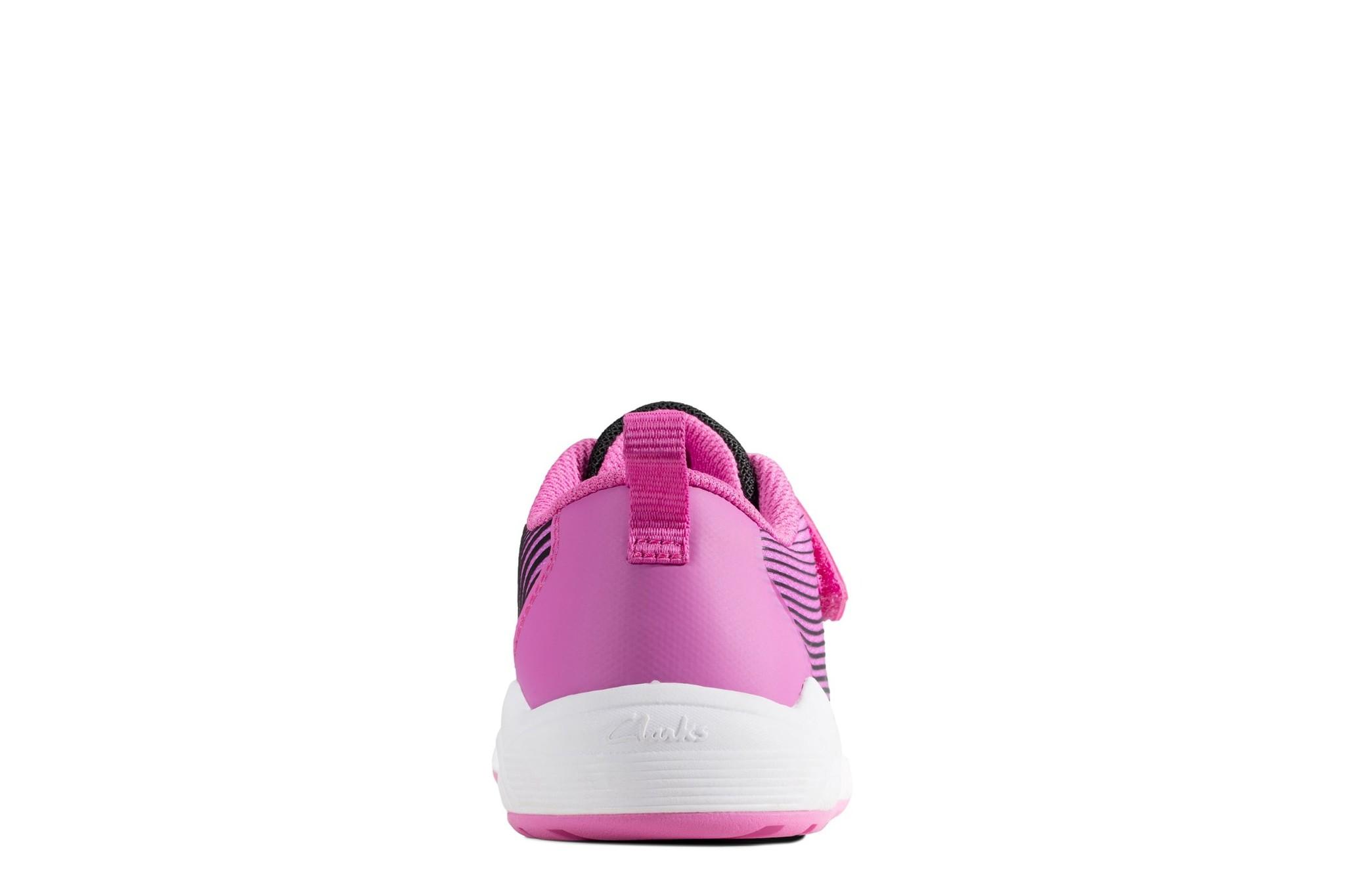 Clarks Aeon Pace Pink Junior