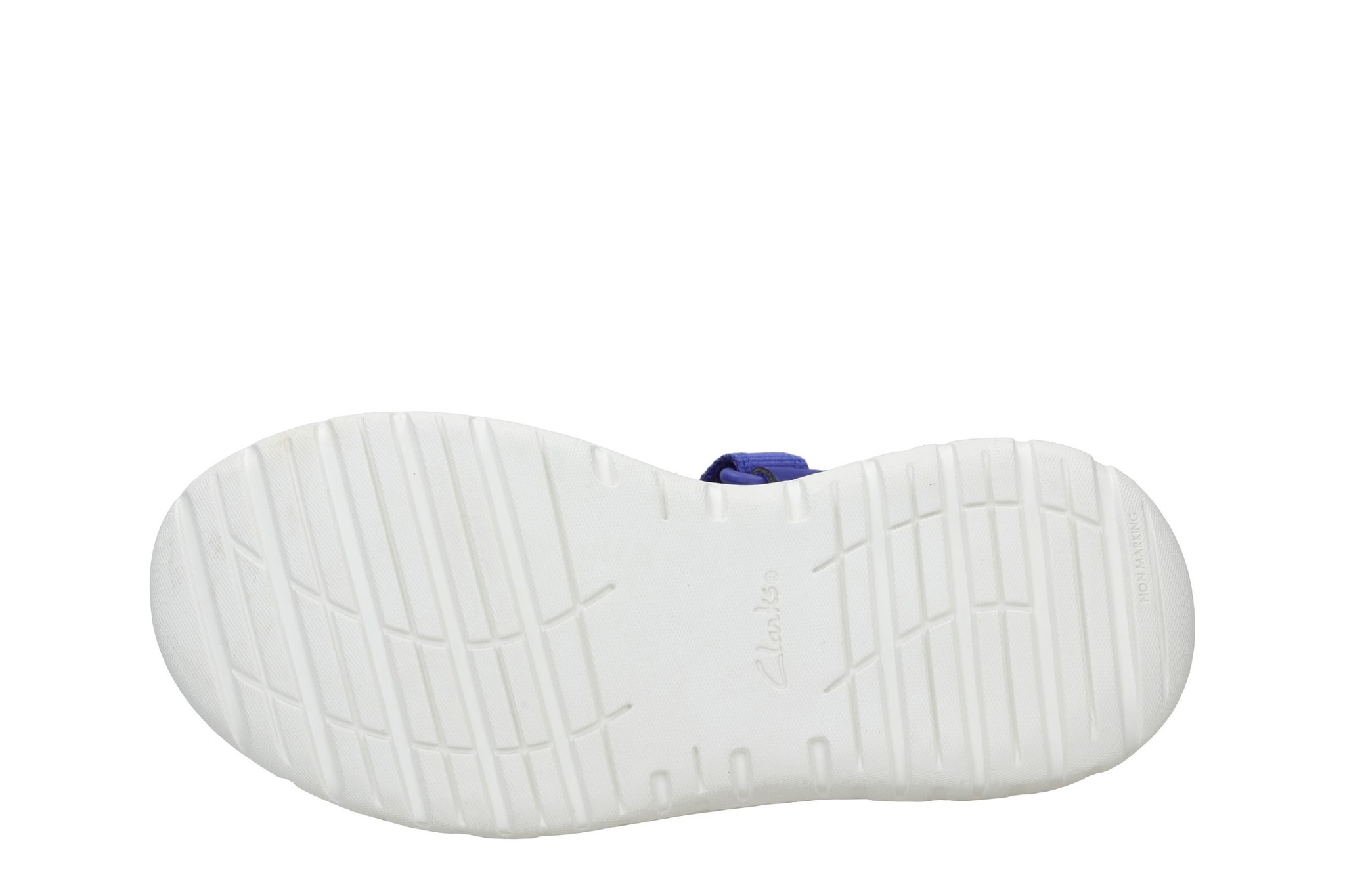 Clarks Surfing Tide Blue Synthetic Junior