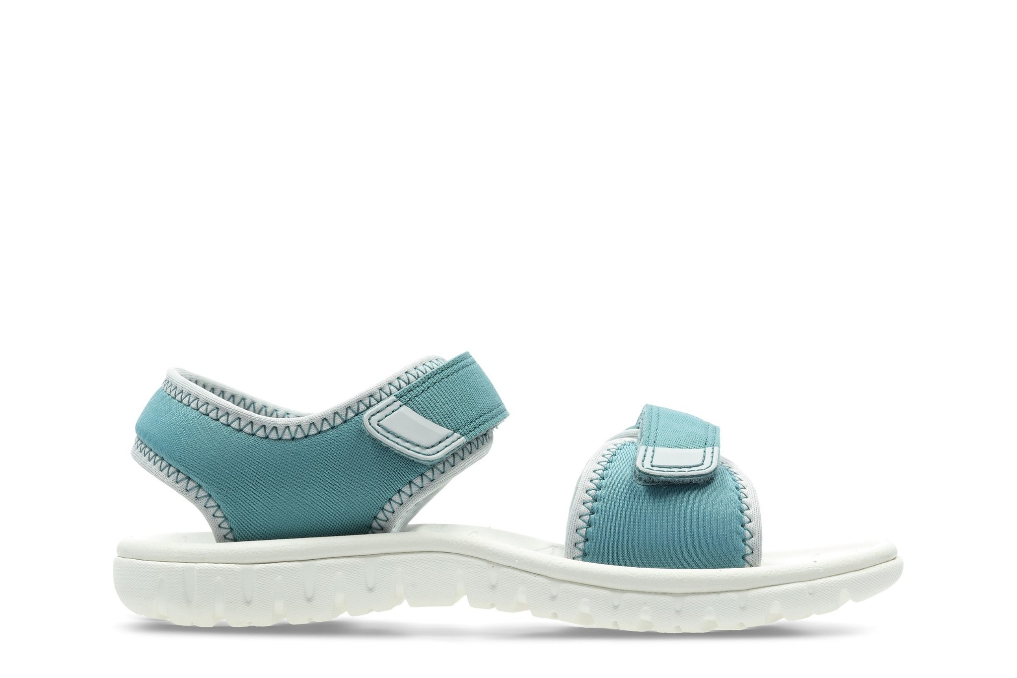 Clarks Surfing Tide Teal Synthetic Junior