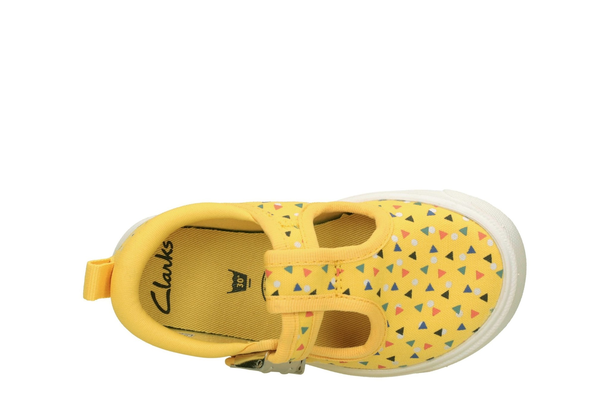 Clarks City Spark Yellow