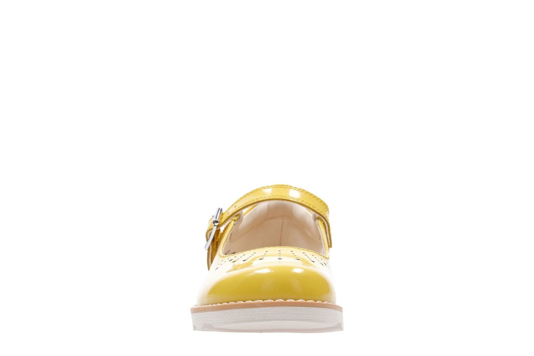 Clarks Crown Jump Yellow Patent