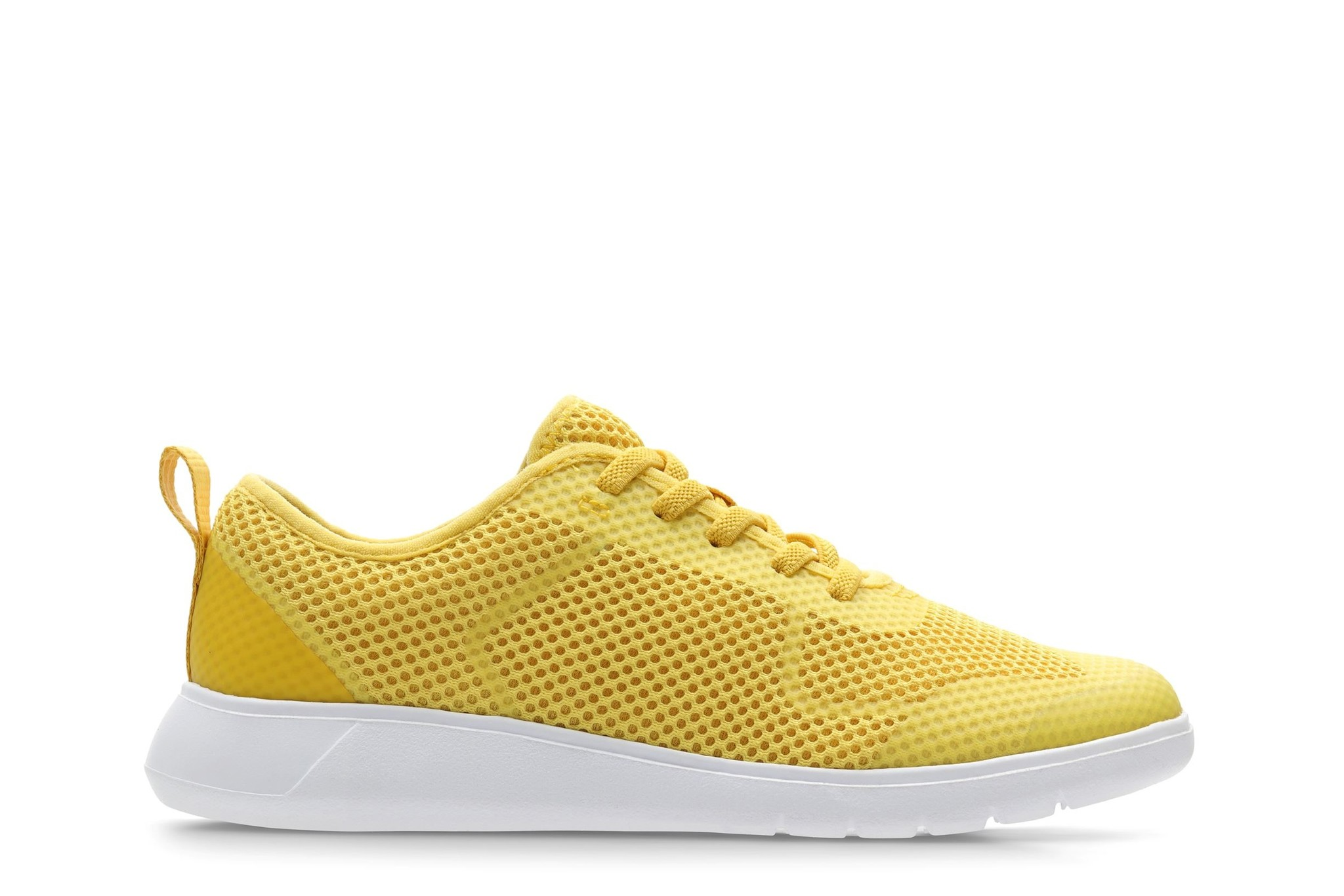 Clarks Scape Soar Yellow Synthetic