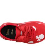 Clarks Ath Bow Red  Combi