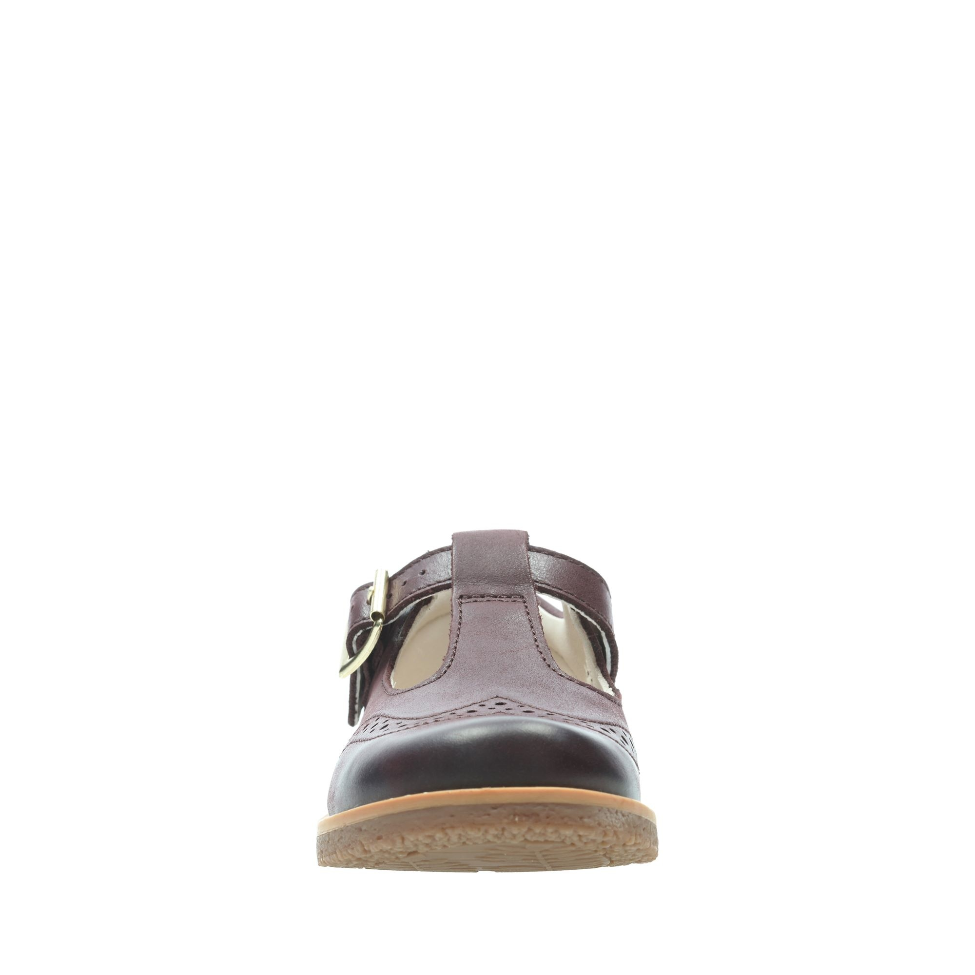 Clarks Comet Reign Burgundy Junior