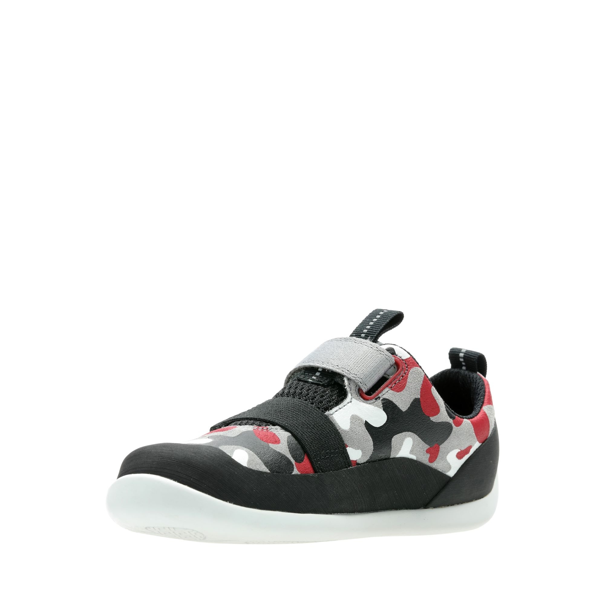 Clarks Play Pioneer Red Camo